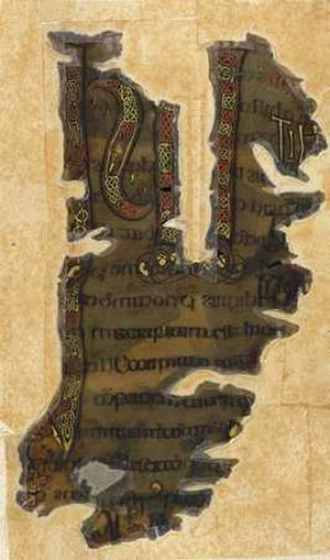 Otho-Corpus Gospels - The incipit page from the Gospel of Mark from the Otho-Corpus Gospels.