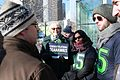 Councilmember Bagshaw holds her Seahawks sign (12346097985).jpg