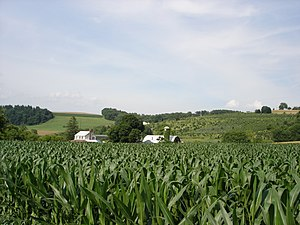 York County, Pennsylvania - Image: Countryside in York County PA