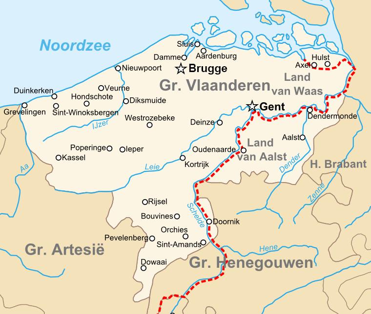 County of Flanders (topogaphy)