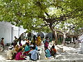 Courtyard of the Qutbuddin Bakhtiyar Kaki's dargah complex.jpg
