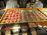 Crabs on Spice Market Counter 20120128a.jpg