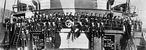 SS Empire Simba - Image: Crew of USS West Cohas (ID 3253), 1919