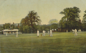 Harborne - The Cricket Ground, Harborne, c. 1906