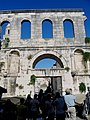 Croatie Split Porte Argent - panoramio.jpg