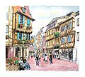 Croquis- Colmar - Alsace - France (15729471653).jpg