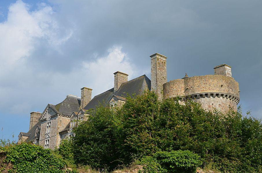 Château de Crosville-sur Douve.