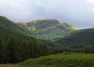Cruach nan Capull mountain in United Kingdom