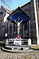 Crucifix outside St Margaret's Church - geograph.org.uk - 1760589.jpg