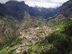 Curral das Freiras - The village of Curral das Freiras