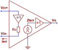 Current feedback op amp simple triangle.png
