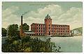 Cushman's Woolen Mill, 1910 postcard.jpg