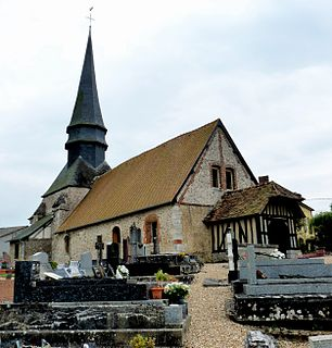 Cuverville, Eure Commune in Normandy, France