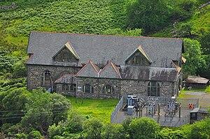 Cwm Dyli - Image: Cwmdylipowerstation