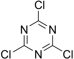 Compounds of carbon - cyanuric chloride