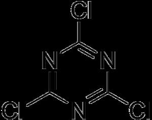 Cyanuric chloride - Image: Cyanuric chloride
