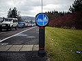 Cycle path, Apollo Road - geograph.org.uk - 1722405.jpg