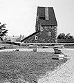 Déli nagy rondella kaputornya. A kaputorony kezdetben Torre d'Italia, Olasz kapu; török neve Szoluk- (lihegő), később Zsigmond kapu. Fortepan 9165.jpg