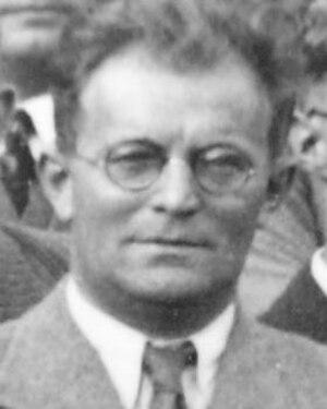 Robert Döpel - Robert Döpel, 1935 at Stuttgart