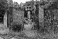 Dülmen, Kirchspiel, ehem. Sondermunitionslager Visbeck, Beobachtungsturm der US Army -- 2019 -- 6498 (bw).jpg