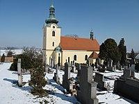 Dřínov (okres Kladno), kostel sv. Lukáše.jpg