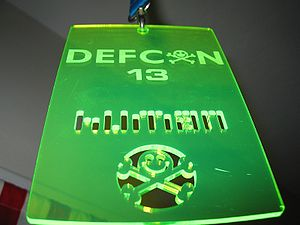 Badge of Defcon 13