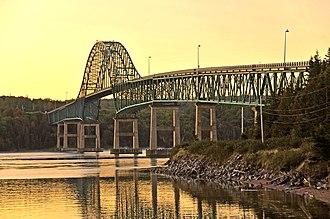 Seal Island Bridge - The Seal Island Bridge