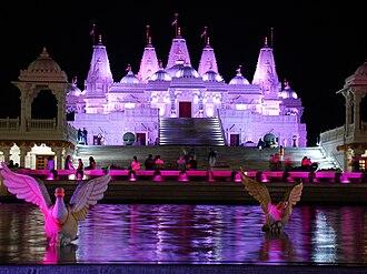 Bochasanwasi Akshar Purushottam Swaminarayan Sanstha - BAPS Swaminarayan Mandir Atlanta