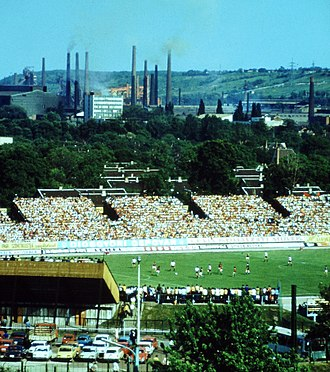 Diósgyőri VTK - An international football match in 1979