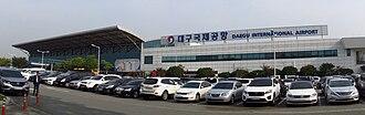 Daegu International Airport - Image: Daegu International Airport 20161012