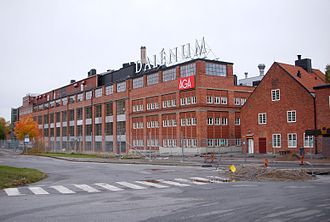 Lidingö Municipality - Dalénum where AGA have the head office since 1912.