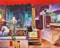 Damien Hirst et Jeff Koons se partageant le marché de l art.jpg