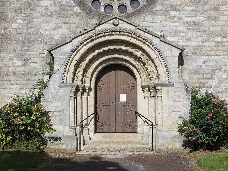 Porche d'entrée de l'église