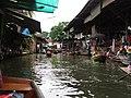 Damneon Saduak-Floating market - Plovoucí trh Damneon Saduak - panoramio - Thajsko (4).jpg