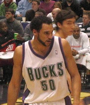 Dan Gadzuric - Gadzuric with the Bucks