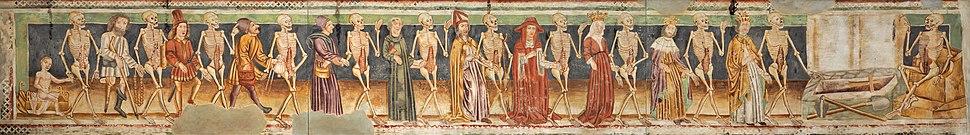 Dance of Death (replica of 15th century fresco; National Gallery of Slovenia)