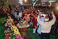Dancing Devotees - Evening Function - Rawatpura Sarkar Ashram - Chitrakoot - Satna 2014-07-05 6870.JPG