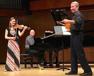 Daniel Heifetz American concert violinist and founder of the Heifetz International Music Institute