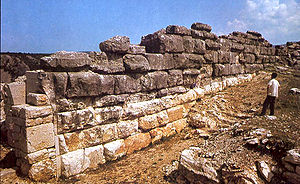 Bosnia and Herzegovina art - Monumental city walls of Daorson near Stolac, 4th century BC.