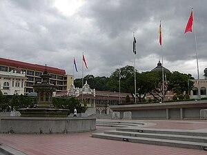 Merdeka - Merdeka Square in Kuala Lumpur.