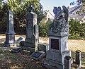Datteln Monument drei Grabmäler alter Friedhof Ahsen 2019-09-21.jpg