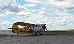Daugavpils izpletņlēcēju kluba An-2 uz Degumnieku lidlauka perona pirms pacelšanās.jpg