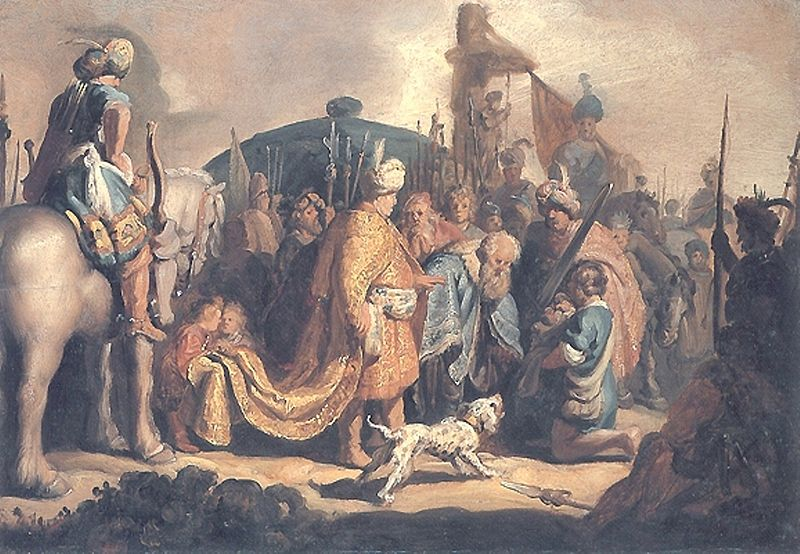 File:David Presents the Head of Goliath to King Saul.jpeg