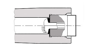 Charles Ragon de Bange - DeBange breech, function of the obturating ring