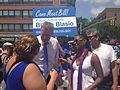 De Blasio at Queens Pride Parade (8927856204).jpg