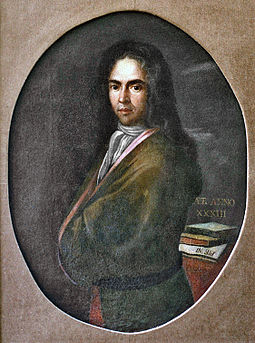Ivan Gundulic, the most prominent Croatian Baroque poet from the Republic of Ragusa De Gondola.jpg