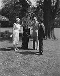 De koning van Nepal, Maharadja Mahendra Birbiham Shah Deo en diens echtgenote, …, Bestanddeelnr 909-7000.jpg