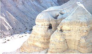 Near Qumran, where the original Dead Sea Scrol...