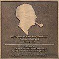 Dedication at the birthplace of Normann Rockwell 206 West 103rd street.jpg