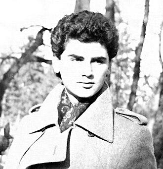 1993 in poetry - Dejan Stojanović in Belgrade, 1981